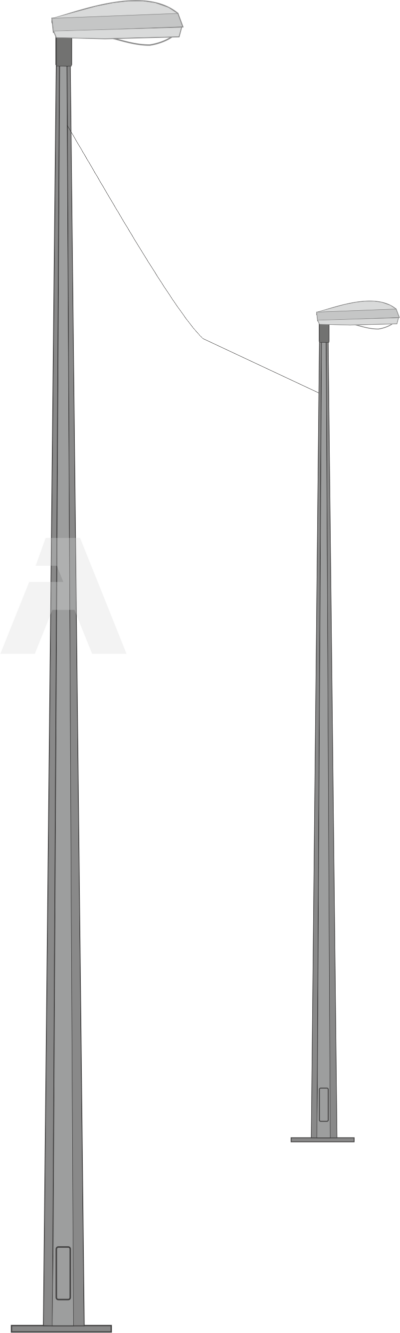 Опора квартальная для воздушной подводки питания (ОГККВ)