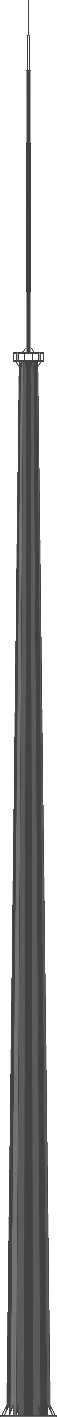 Молниеотвод граненый (МОГК)