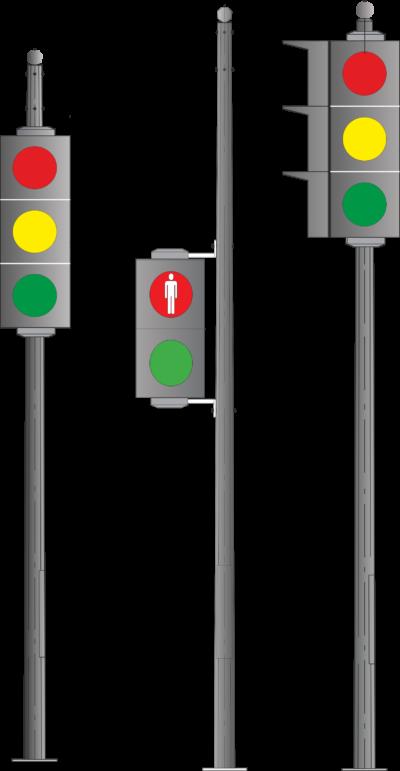 Опоры для светосигнального оборудования (ОСФГ)