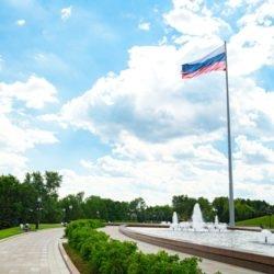 50-метровый флагшток, Москва, Поклонная гора