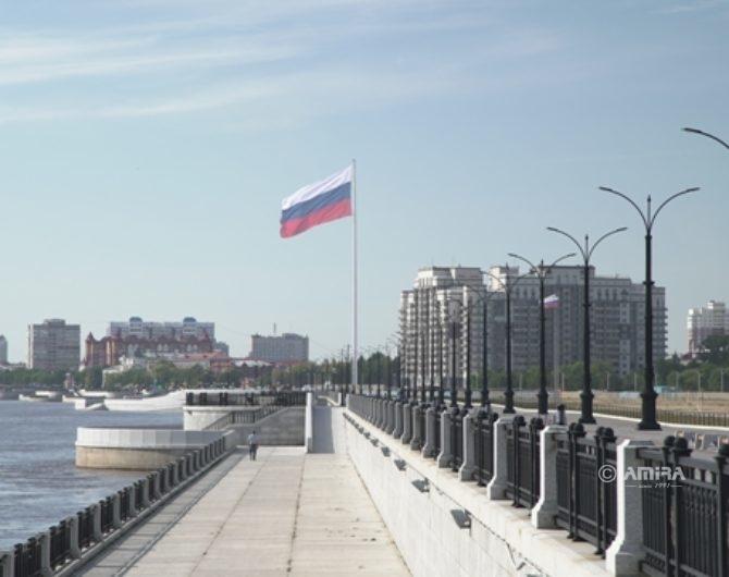 Флагшток 75 метров Благовещенск_АМИРА