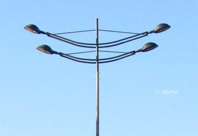 Кронштейны для опор освещения