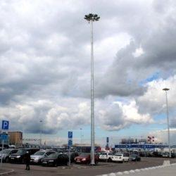 Парковка международного аэропорта Пулково, Санкт-Петербург