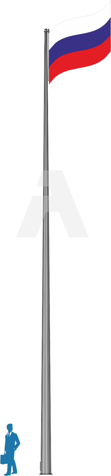 Флагштоки уличные (до 30 м)