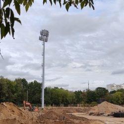 мачты амира на стадионе москвич