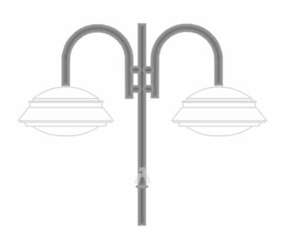 К16 — кронштейн подвесной