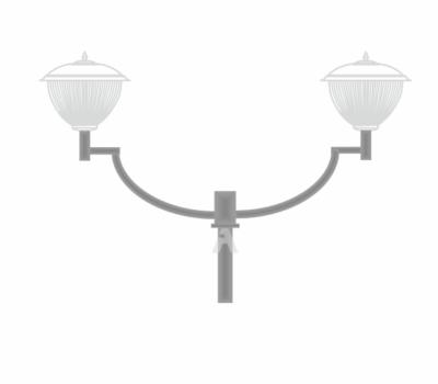 К41- кронштейн торшерный