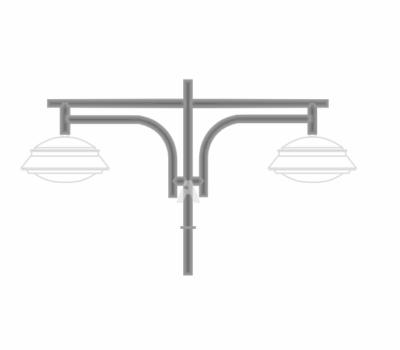 К43 — кронштейн подвесной