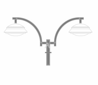 К45 — кронштейн подвесной