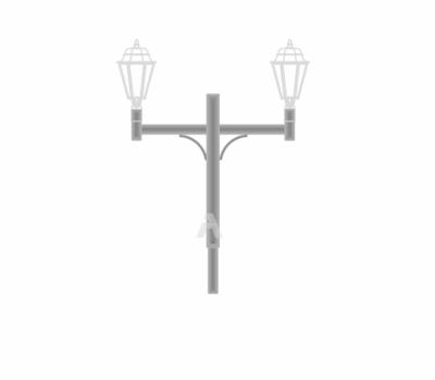 К58- кронштейн торшерный