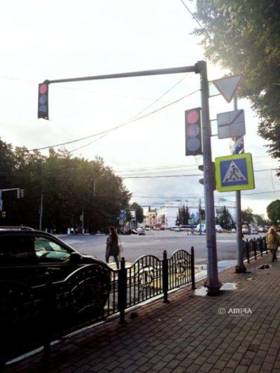 Опора светофорная ОГСГ-6,15-3,5